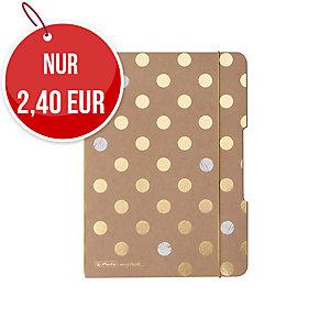 Herlitz Pure Glam flex Notizheft A5, punktiert, 40 Blatt