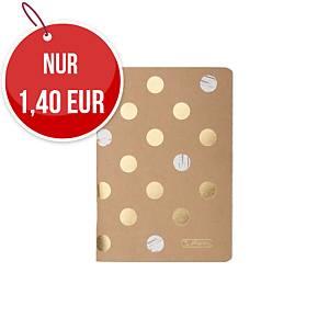 Herlitz Pure Glam Notizheft A6, liniert, 16 Blatt