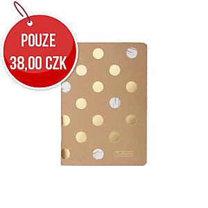 Sešit Herlitz Pure Glam A6, linkovaný, 16 listů