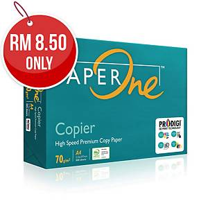 Paperone Copier A4 Paper 70gsm White - Box of 5 Reams (5 X 500 Sheets)