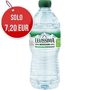 Acqua minerale naturale Levissima bottiglia RPET 0,5 L - conf. 24