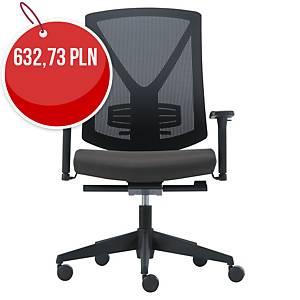 Krzesło biurowe SYNCHRON, czarne
