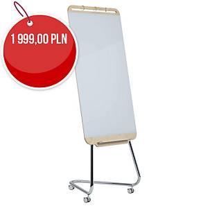 Flipchart szklany mobilny DOURO