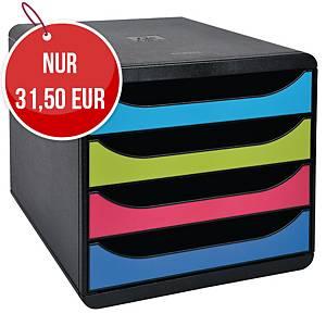 Exacompta Big Box Schubladenbox, farbig