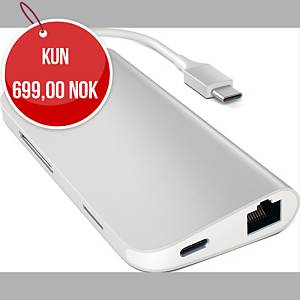 SATECHI USB-C MULTI ADAPTER 4K SILVER