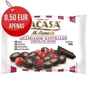 Pack de 14 sacos de mirtilos com chocolate preto Lacasa - 30 g