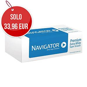Rotolo carta plotter Navigator opaca bianca 80g/mq - conf. 4