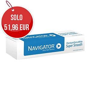 Rotolo carta plotter Navigator opaca bianca 90g/mq - conf. 4