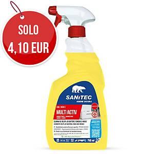 Detergente multisuperficie Sanitec Multiactive profumato 750 ml