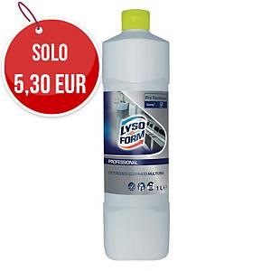 Detergente igienizzante Lysoform gel Ultra Cloro 1 L