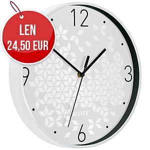 Nástenné hodiny Leitz WOW, biele