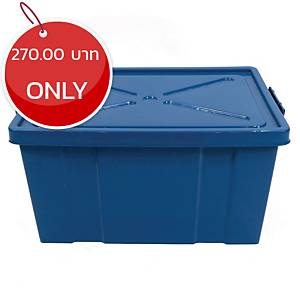 Plastic Storage Box 68 Litres Assorted Colors