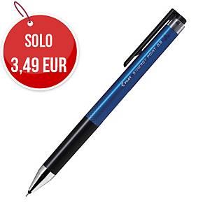 Penna roller con inchiostro gel Pilot Sinergy Point punta 0,5 mm blu