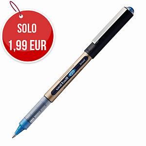 Penna roller con cappuccio uni-ball Eye punta 1,0 mm blu