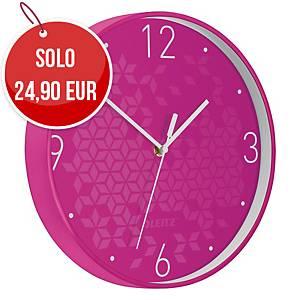 Orologio da parete Leitz WOW Ø 29 fucsia