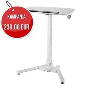 GetUpDesk One säädettävä pöytä valkoinen