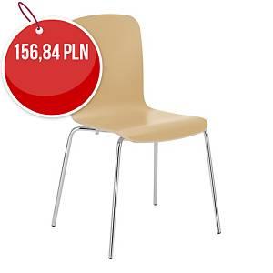 Krzesło konferencyjne NOWY STYL CAFE, bukowe