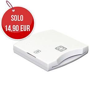 Lettore per Smart Card e Sim card Nilox bianco