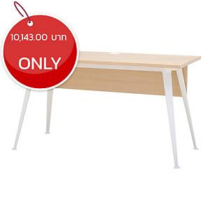 SIMMATIK L-OV140 OFFICE TABLE 140X60X75 CM AGED OAK/WHITE