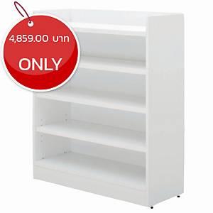 SIMMATIK L-SCN80 Shoe Cabinet White