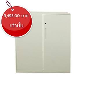 METAL PRO ตู้เหล็กอเนกประสงค์ FP-QG-HD-3D 90X45X109.5 ซม ขาว