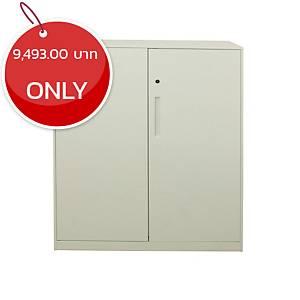 METAL PRO FP-QG-HD-3D Metal Cabinet White