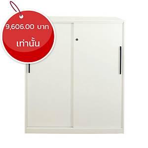 METAL PRO ตู้เหล็กอเนกประสงค์ FP-QG-SD-3D 90X45X109.5 ซม ขาว