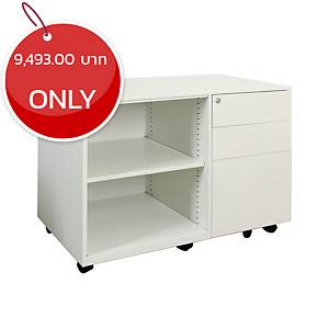 METAL PRO CK-RT-OS-L-BBF Metal Cabinet White