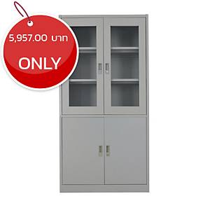 METAL PRO MET-WB04 Steel Swing Door Cabinet Grey