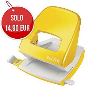 Perforatore a 2 fori Leitz Wow 5008 giallo fino a 25 fogli