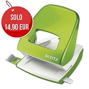 Perforatore a 2 fori Leitz Wow 5008 verde fino a 25 fogli