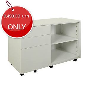 METAL PRO CK-RT-OS-R-BBF Metal Cabinet White