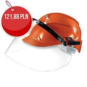 UVEX 9725.514 VISOR POLICARBONATE CLEAR