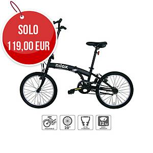 Bicicletta pieghevole Nilox X0