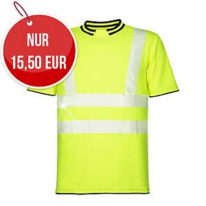ARDON® SIGNAL Warnschutz-T-Shirt mit kurzen Ärmeln, Größe XL, gelb