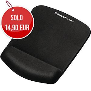 Supporto polsi Fellowes Plush Touch nero