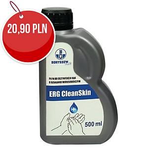Płyn do dezynfekcji rąk i powierzchni ERG Clean Skin+, 500 ml