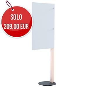 Pannello separatore di protezione Paperflow - 65 x 98 cm bianco