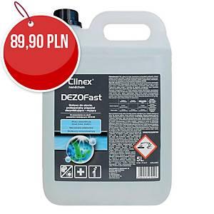 Płyn dezynfekująco-myjący CLINEX Dezofast, 5 l