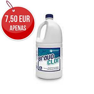 Detergente com cloro higienizante Bravo - 2 l