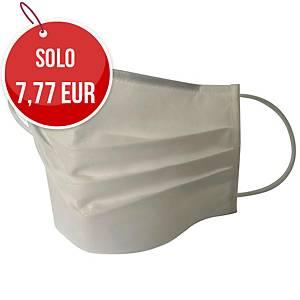 Mascherina filtrante in TNT lavabile 5 volte - conf. 20