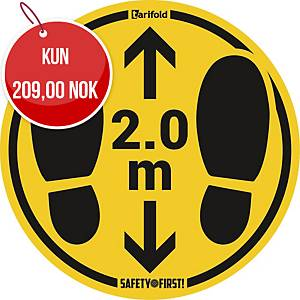 PK2 TARIFOLD STICKERS SMOOTH 2M 350MM