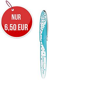 Herlitz my.pen Frozen Glam Füllhalter, blau