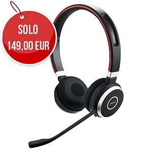 Cuffia wireless Jabra Evolve2 65 USB-A binaurale