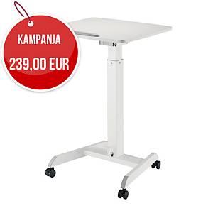 GetUpDesk Tilt säädettävä pöytä valkoinen