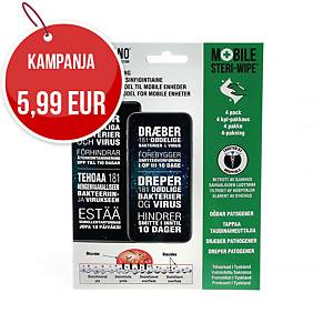 LiquidNano Mobile Steri-Wipe antibakteerinen nanopinnoite 1kpl=4 liinaa