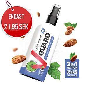 Hand- och ytdesinfektion V-Guard, 70 %, 100 ml