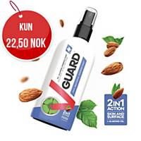 Hånd- og overflatedesinfeksjon V-Guard, 70 %, 100 ml