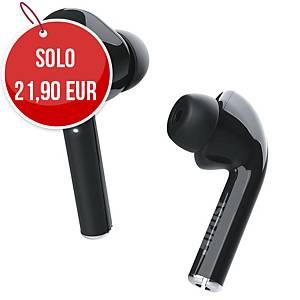 Cuffie auricolari wireless Bluetooth Trust Nika Touch nero