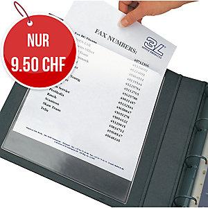 Einstecktasche 3L Pockets A6, 115x158 mm, Beutel à 5 Stück